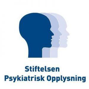 Image: Psykiatrisk opplysning's logo