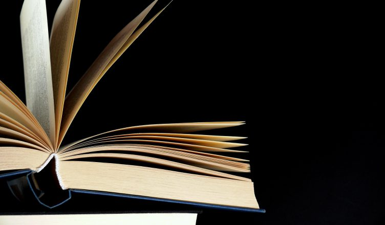Image: An open book