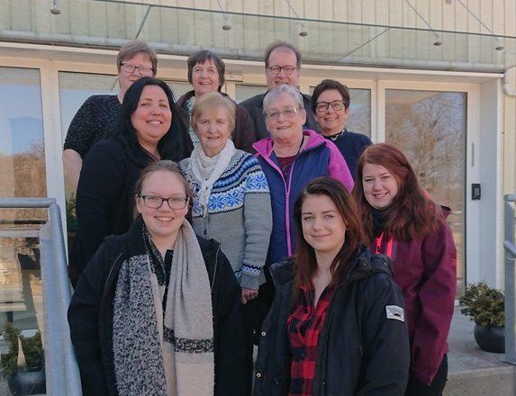 Bilde: Deltakere på dialogmøte i Roan kommune