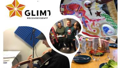 Plakat GLIMT recoverysenter
