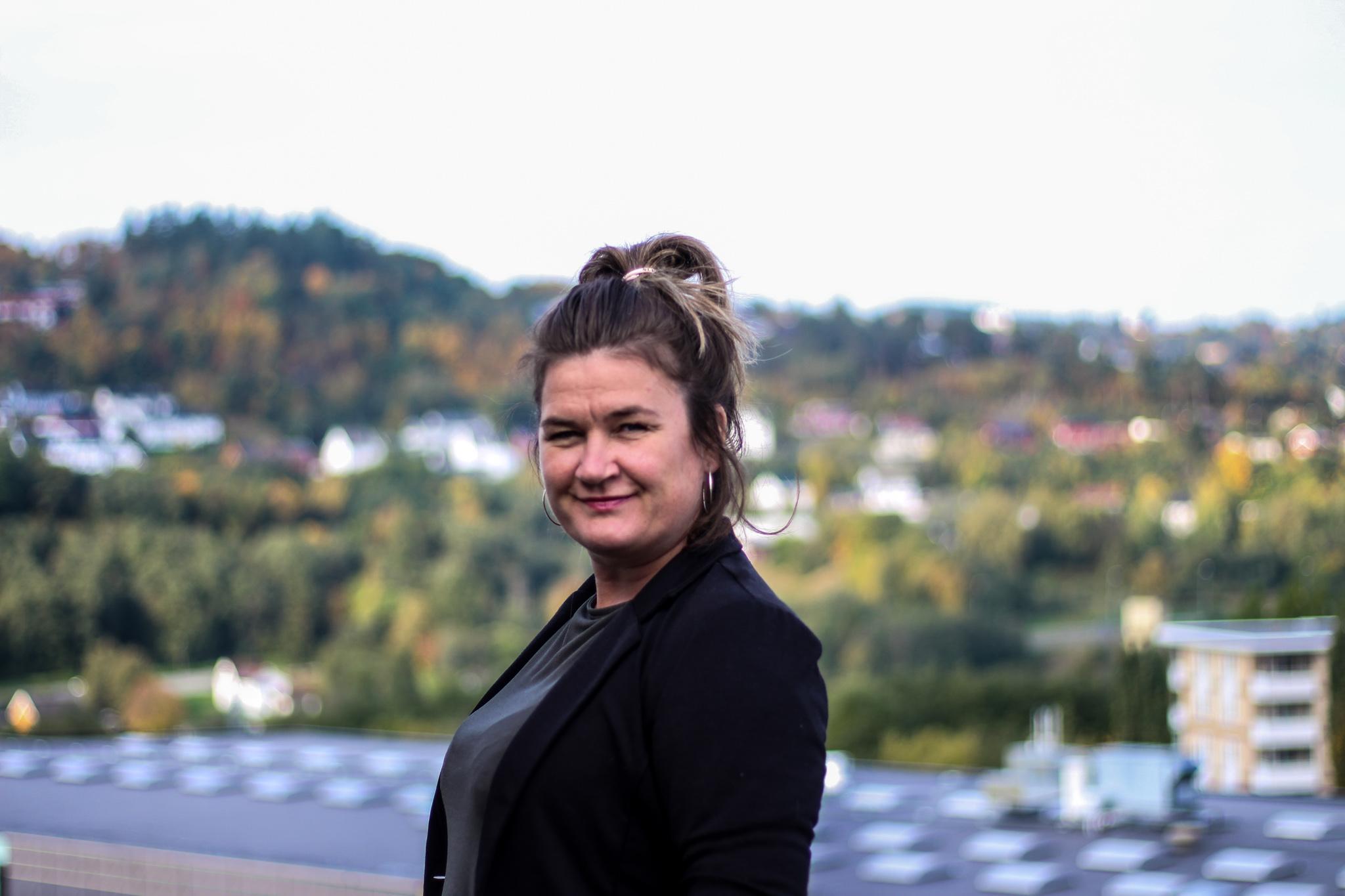 Maya Blomstöm, ansatt i KBT kompetansesenter for brukertjenester og tjenesteutvikling